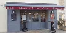 "Bar-brasserie ""Marais Social Club"" - Coulon"